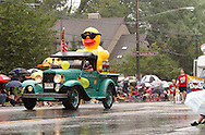 The United Rehabilitation Services duck during the 2012 Holiday at Home Parade on Far Hills Avenue in Kettering, Monday, September 3, 2012.