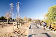 Biking Along the Paseos in Santa Clarita