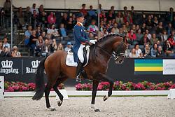 Minderhoud Hans Peter, NED, Glock's Johnson TN<br /> Nederlands Kampioenschap Dressuur <br /> Ermelo 2017<br /> © Hippo Foto - Dirk Caremans<br /> 16/07/2017