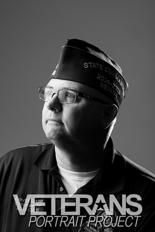David Sousa<br /> Army<br /> E-7<br /> Military Police, Infantry, Signal Corps<br /> Aug. 17, 1987 - Present<br /> OIF, OEF<br /> <br /> Veterans Portrait Project<br /> St. Louis, MO