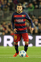 Jordi Alba Barcelona<br /> Barcelona 24-11-2015 Stadio Camp Nou<br /> Football Calcio Champions League 2015/2016 <br /> Group Stage - Group E Barcelona - As Roma /  Barcellona - As Roma 6-1<br /> Foto Luca Pagliaricci / Insidefoto