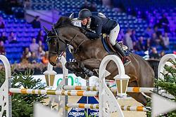 Brondeel Donaat, BEL, d'Artagan RR<br /> Jumping Mechelen 2019<br /> © Hippo Foto - Martin Tandt<br />  27/12/2019