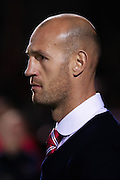 Doncaster Rovers Caretaker Manager Jones during the Johnstone's Paint Trophy match between York City and Doncaster Rovers at Bootham Crescent, York, England on 6 October 2015. Photo by Simon Davies.