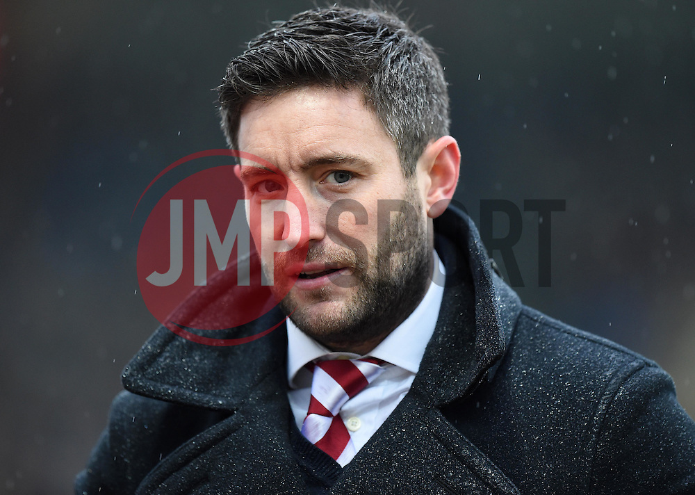 Lee Johnson newly appointed head coach of Bristol City - Mandatory by-line: Paul Knight/JMP - Mobile: 07966 386802 - 13/02/2016 -  FOOTBALL - Ashton Gate Stadium - Bristol, England -  Bristol City v Ipswich Town - Sky Bet Championship