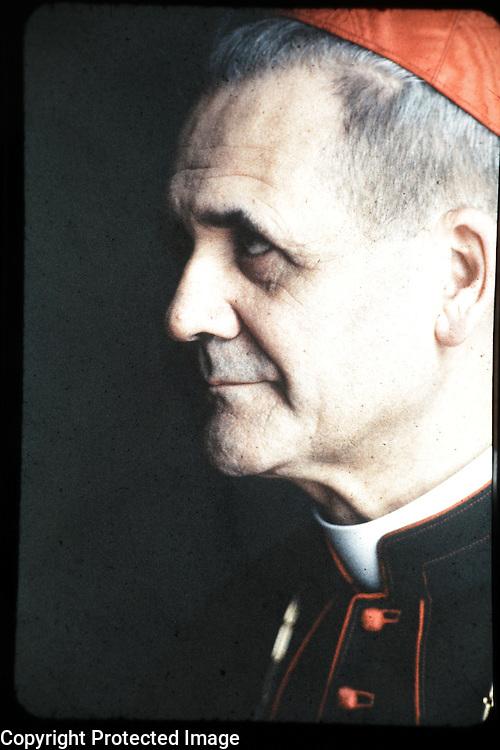 Cardinal Leger, Maclean's, portrait, man, religion, Catholic