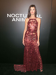 Celebrities are seen attending the special screening of Focus Features' 'Nocturnal Animals' at the Hammer Museum in Los Angeles. 11 Nov 2016 Pictured: Sarah McDaniel. Photo credit: Bauer Griffin / MEGA TheMegaAgency.com +1 888 505 6342
