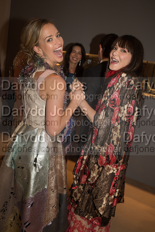 MARISSA HERMER; ANNABELLE NEILSON, The Neo Romantic Art Gala in aid of the NSPCC. Masterpiece. Chelsea. London.  30 June 2015