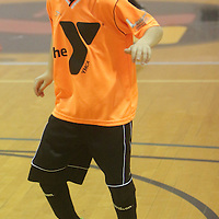 Travis Blaylock dribbles Sunday January 18, 2015 at the Wilmington Family YMCA. (Jason A. Frizzelle)