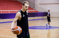 Jaka Blazic of Slovenia during practice session of Slovenian National team 1 day prior to the basketball match between National Teams of Slovenia and Ukraine in Round of 16 of the FIBA EuroBasket 2017, at Ahmet Cömert Sports Hall in Istanbul, Turkey on September 8, 2017. Photo by Vid Ponikvar / Sportida