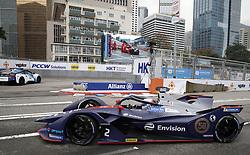 March 10, 2019 - Hong Kong, HONG KONG - 2, Sam BIRD, GBR, Envision Virgin Racing, Audi, e-tron, FE05, follows the safety car, .HONG KONG, CHN, 10. March 2019, Formula E Hong Kong .E-Prix, FIA Formula E, Formula E Grand Prix 2019.  Formel E, Elektro e-prix Autorennen (Credit Image: © David McIntyre/ZUMA Wire)
