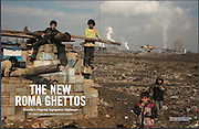 "April 2013 edition of Vice Magazine (US)  featuring ""The New Roma Ghettos"" by Aaron Lake Smith with photos by Matt Lutton"