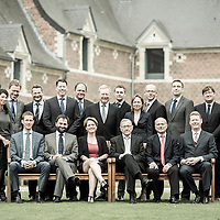 Jodoigne, Belgium 30 April 2014<br /> ESM group portrait. <br /> Photo: Ezequiel Scagnetti