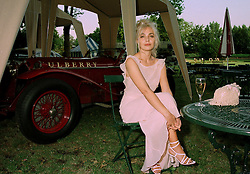 JEANNE MARINE a good friend of singer Bob Geldof, at a ball in London on 17th June 1997.LZL 1