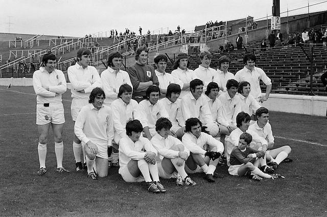 08.08.1971 Football All Ireland Junior Semi Final Mayo Vs Tyrone.Tyrone