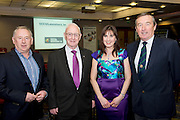 Tom O Connor, SCCUL, John Lenihan , SCCUL, Trish Murphy Ballybane Enterprise centre and  Padraig O Callaghan, SCCUL  at a Mentor evening for SCCUL Mentor at the Clayton Hotel Galway. Photo:Andrew Downes