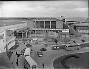 06/08/1958.08/06/1958.06 August 1958.Reconstruction work at Dublin Airport.