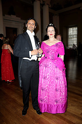 ANNA MOSES and PROF.KARL LUTCHMAYER at the 13th annual Russian Summer Ball held at the Banqueting House, Whitehall, London on 14th June 2008.<br />