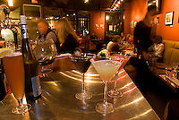 Martinis at Elements Restaurant in Whistler are varied and delicious.