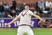 Craig Overton of Somerset warming up to bowl during the Specsavers County Champ Div 1 match between Somerset County Cricket Club and Middlesex County Cricket Club at the Cooper Associates County Ground, Taunton, United Kingdom on 27 September 2017. Photo by Graham Hunt.