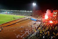 031002 Fotboll, Svenska cupen, Djurgärden - AIK: Derbyt mellan Djurgården och AIK kan bli det sista som spelas pä Stockholm stadion<br /><br />Norway only