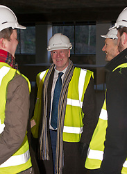 Pictured: Kevin Stewart<br /> When visiting Greenside House, a newly redevolped 36,000 square feet of Grade A office accommodation, in Edinburgh today  Housing minister Kevin Stewart unveiled details of an GBP8.9 million award to refurbish office space.<br /> <br /> Ger Harley | EEm 28 February 2017