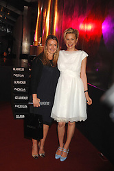 Left to right, ANYA HINDMARCH and ALICE EVANS at the Glamour magazine Women of the Year Awards held in the Berkeley Square Gardens, London W1 on 5th June 2007.<br />