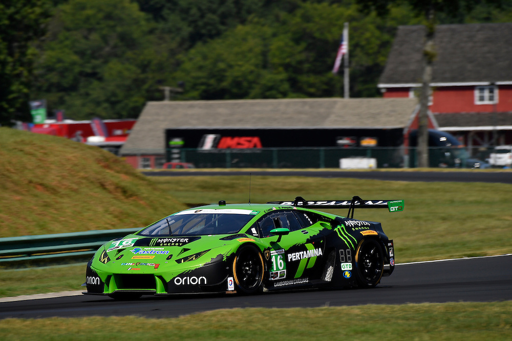 26-28 August, 2016, Alton, Virginia USA<br /> 16, Lamborghini, Huracan GT3, GTD, Spencer Pumpelly, Corey Lewis<br /> &copy;2016, Scott R LePage <br /> LAT Photo USA