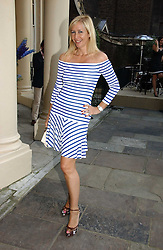 TANIA BRYER at the annual Michele Watches Summer Party held in the gardens of Home House, 20 Portman Square, London W1 on 15th June 2006.<br />