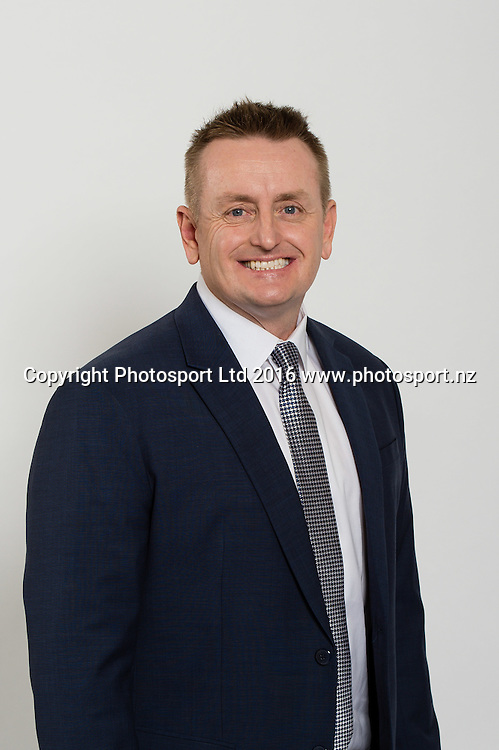 Scott Styris. Sky Presenters headshots. Christchurch, New Zealand, 16th November 2016. © Copyright Photo: John Davidson / www.photosport.nz