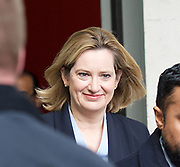 Andrew Marr Show<br /> BBC, Broadcasting House, London, Great Britain <br /> 26th March 2017 <br /> <br /> <br /> Amber Rudd MP<br /> Home Secretary <br /> leaving the BBC <br /> <br /> Photograph by Elliott Franks <br /> Image licensed to Elliott Franks Photography Services