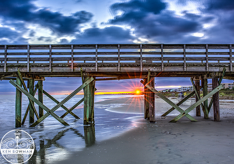 Isle of Palms Pier Sunset.