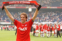 01-06-2003 NED: Amstelcup finale FC Utrecht - Feyenoord, Rotterdam<br /> FC Utrecht pakt de beker door Feyenoord met 4-1 te verslaan / Igor Gluscevic