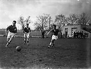 09/04/1956<br /> 04/09/1956<br /> 09 April 1956<br />  Soccer Interprovincial Schoolboys: Leinster v Ulster at Whitehall, Dublin.