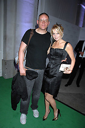 GILES DEACON and MARISSA MONTGOMERY at the Tanqueray No.TEN cocktail party held at No1 Piazza, Covent Garden, London on 10th June 2008.<br />