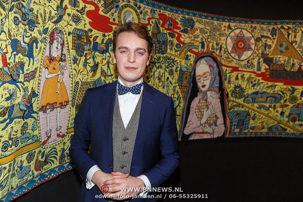 NLD/Amsterdam/20160128 - opening DWDD Pop Up Museum 2016, Sywert van Lienden