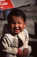 A young Tibetan girl in Manali.