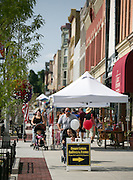 Main Street in Canandaigua on Friday, July 25, 2014.