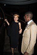 PALOMA FAITH; LABRINTH, Tom Ford cocktail and preview of Tom Ford's Spring-Summer 2016 Menswear Collection. 201-202 Sloane St. London. 14 June 2015