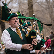 St. Patrick's Day, Fifth Avenue, New York City.