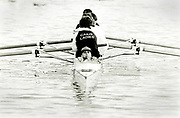 Henley on Thames, England, 1990 Henley Royal Regatta, River Thames, Henley Reach,  [© Peter Spurrier/Intersport Images], Bow Loaded Cox,