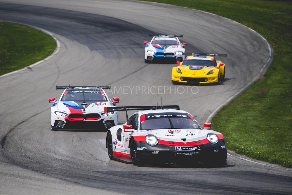 May 4-6 2018: IMSA Weathertech Mid Ohio. 912 Porsche GT Team, Porsche 911 RSR, Laurens Vanthoor, Earl Bamber