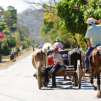Ox carts have been used in Guanacaste for hundreds of years. Although few are still built, all are used on a daily basis