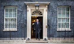 © Licensed to London News Pictures. 15/01/2019. London UK. Chris Grayling leaves number 10 after this morning's cabinet meeting ahead of todays vote on the Theresa May's Brexit deal. Photo credit: Andrew McCaren/LNP