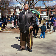 Now in his sixties, Pac Cojulun needs a cane to walk, but rarely sits down. He is still the block captain, but his bigger commitment is given to Malcolm X Park. Since that meeting, Cojulun has been the block captain for the 5000 block of Osage Street, his home since 1962.
