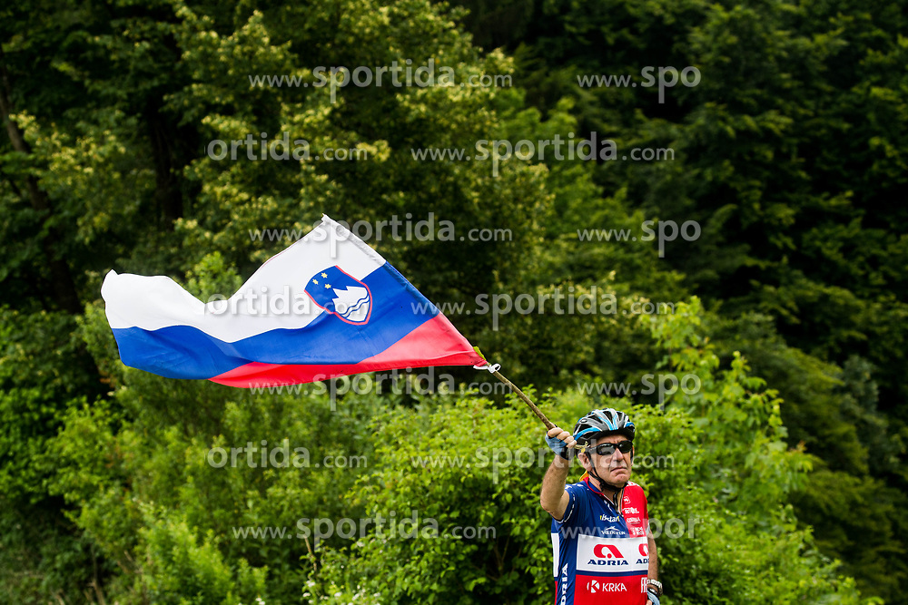 Fan during Stage 2 of 24th Tour of Slovenia 2017 / Tour de Slovenie from Ljubljana to Ljubljana (169,9 km) cycling race on June 16, 2017 in Slovenia. Photo by Vid Ponikvar / Sportida