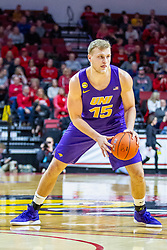 NORMAL, IL - December 31: Justin Dahl during a college basketball game between the ISU Redbirds and the University of Northern Iowa Panthers on December 31 2019 at Redbird Arena in Normal, IL. (Photo by Alan Look)