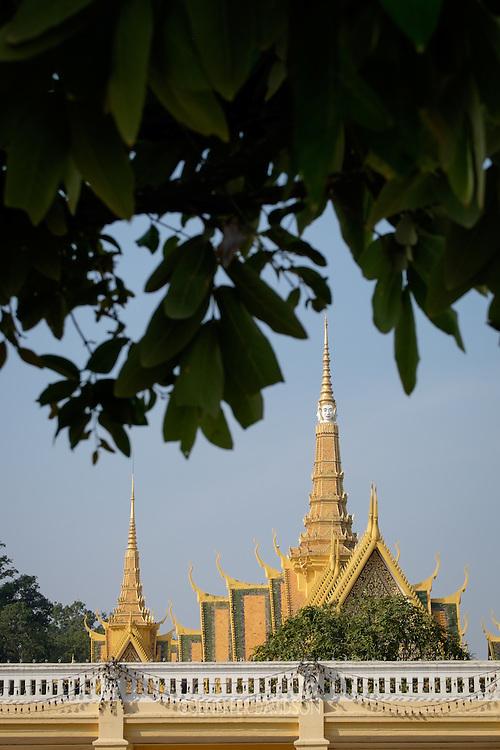 The Royal Palace in Phnom Penh, Cambodia.
