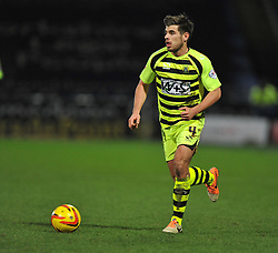 Yeovil Town's Joe Edwards - Photo mandatory by-line: Alex James/JMP - Tel: Mobile: 07966 386802 29/12/2013 - SPORT - FOOTBALL - John Smith's Stadium - Huddersfield - Huddersfield Town v Yeovil Town - Sky Bet Championship