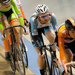 20-12-2015: Wielrennen: NK Baan: Alkmaar<br />ALKMAAR (NED) baanwielrennen  <br />Roy Pieters onderweg in de scratchrace die hij op zijn naam wist te schrijven