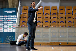 Jurica Golemac, head coach of KK Sixt Primorska during basketball match between KK Petrol Olimpija and KK Sixt Primorska at Superpokal 2018, on September 24, 2018 in Hala Tivoli, Ljubljana, Slovenia. Photo by Urban Urbanc / Sportida